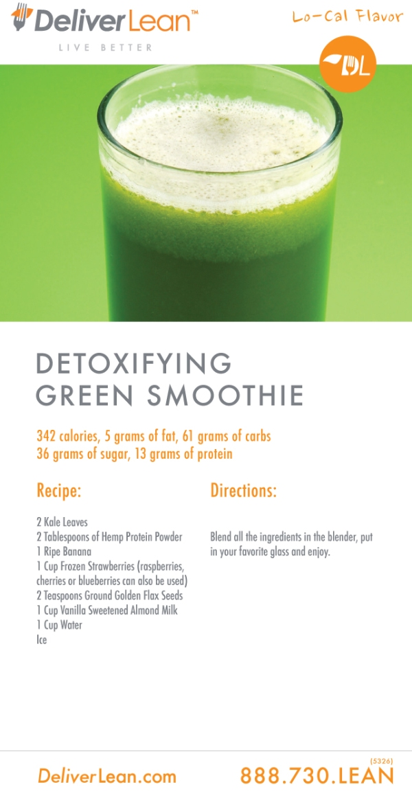 Deliver Green Smoothie Recipe