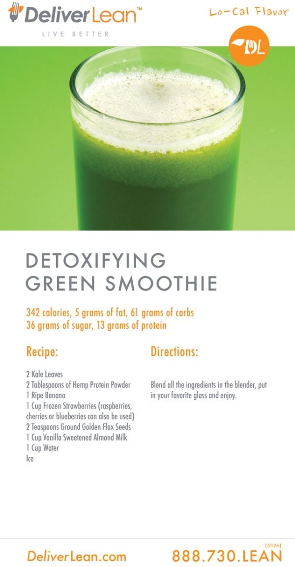 Deliver Green Smoothie Recipe